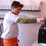 Café Wohnwerk Praktikant Maximilian