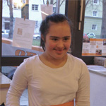 Café Wohnwerk Praktikantin Anna