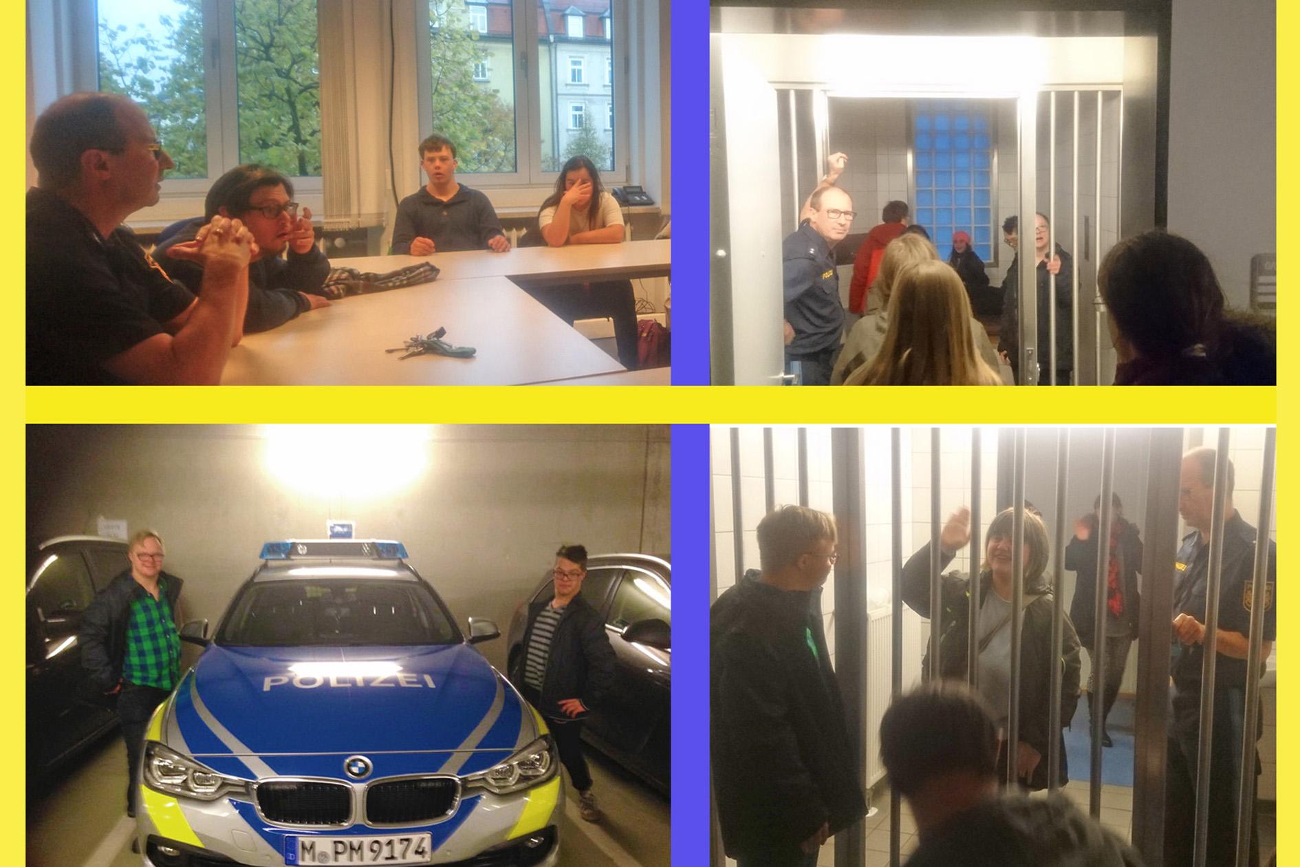 Besuch der Polizeiinspektion 42